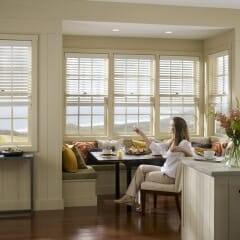 Aluminum Venetian Blinds from Lutron