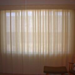 Semi Sheer Averte In Bedroom