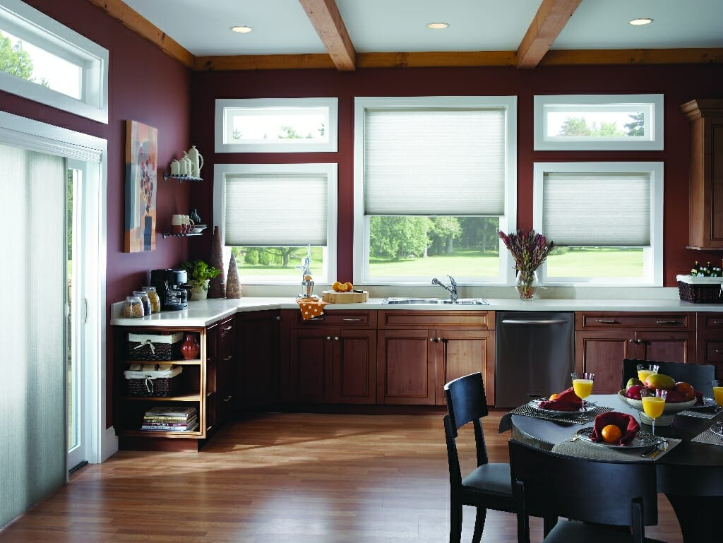 Kitchen Window Treatment Design Ideas ~ Kitchen blind mice window coverings
