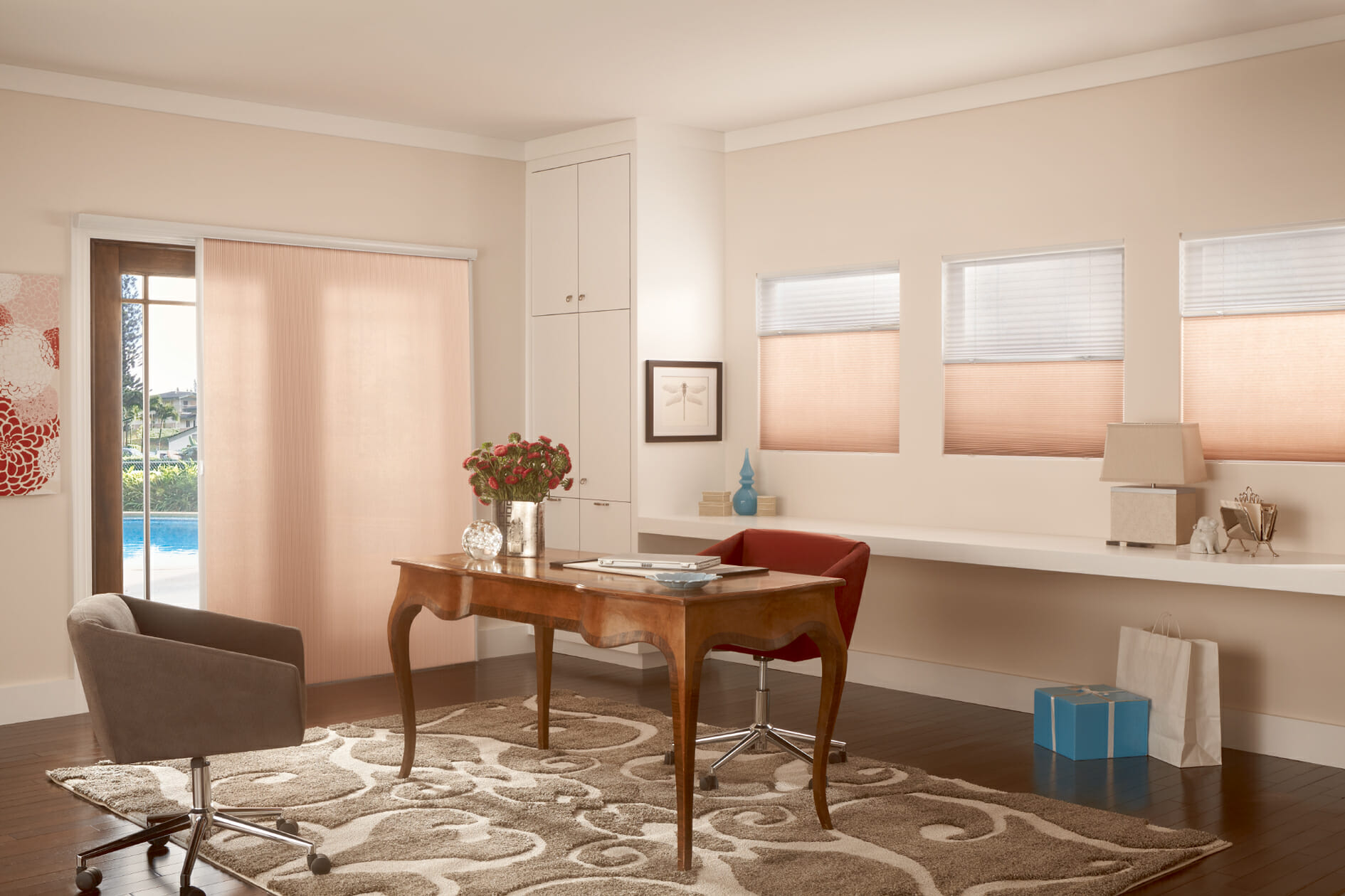 Cellular Shades Allow You To Control The Amount Of Light Or Darkness Want