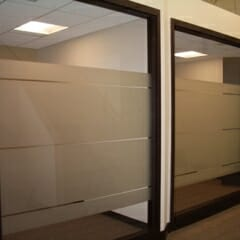 Privacy Frosting For Conference Room
