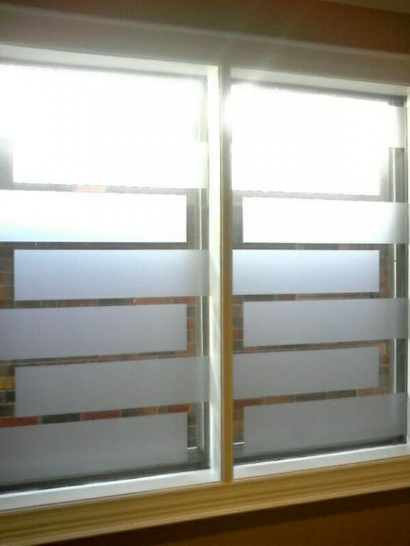 Decorative Window Film 3 Blind Mice Coverings