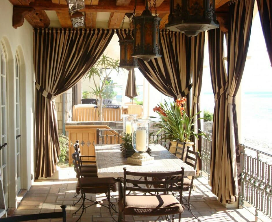 Outdoor Curtain Hanging Ideas Best Decorating 2017