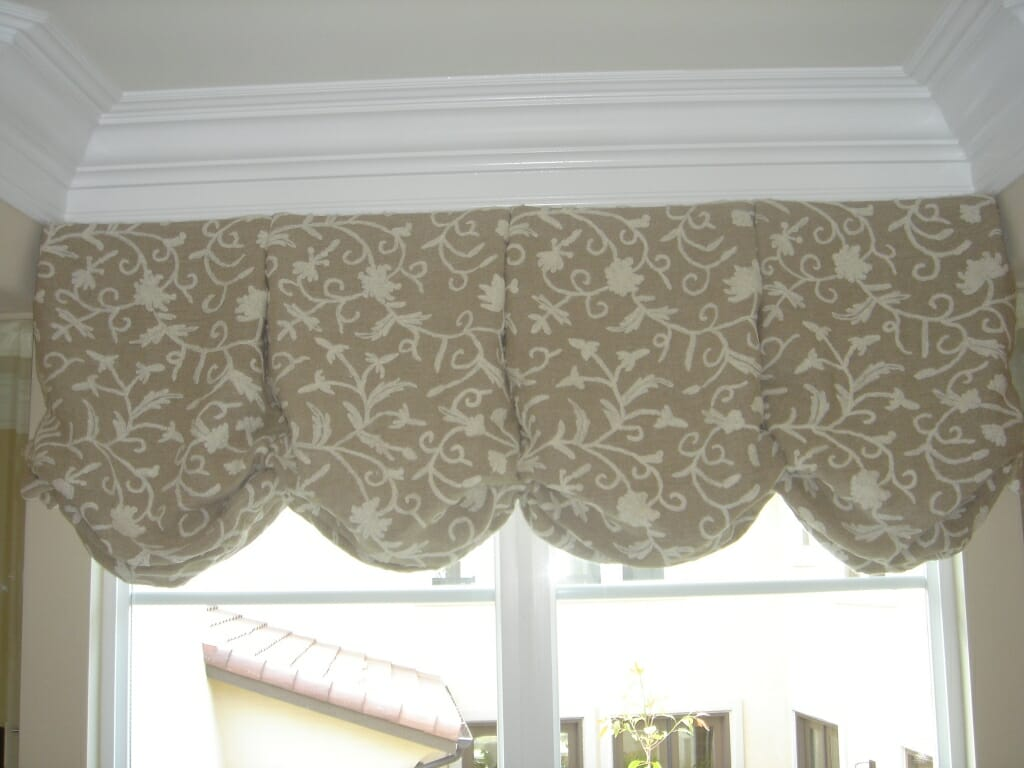 Fabric Valances - 3 Blind Mice Window Coverings