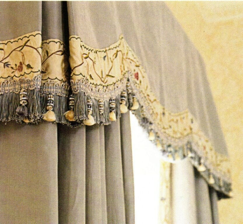 Fabric Valances 3 Blind Mice Window Coverings