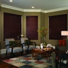 Faux Wood Blinds Offer A Contemporary Look