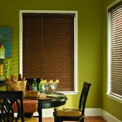 Fauz Wood Blinds Offer Easy Maintenance