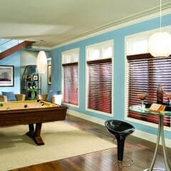 Faux Wood Blinds Have The Look Of Real Wood
