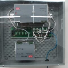 Power Panel For Low Voltage Motors With Somfy Power Distribution Panel