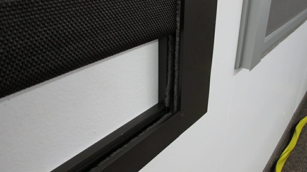 blackout shades with side channels