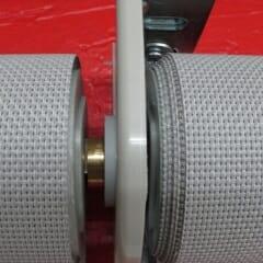 Mechoshade coupler bracket for multi banded shades