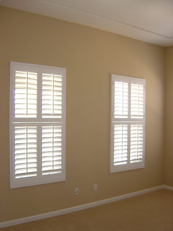 Double Hung Shutters : Faux wood shutters video photo gallery