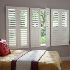Plantation Shutters In The Bedroom