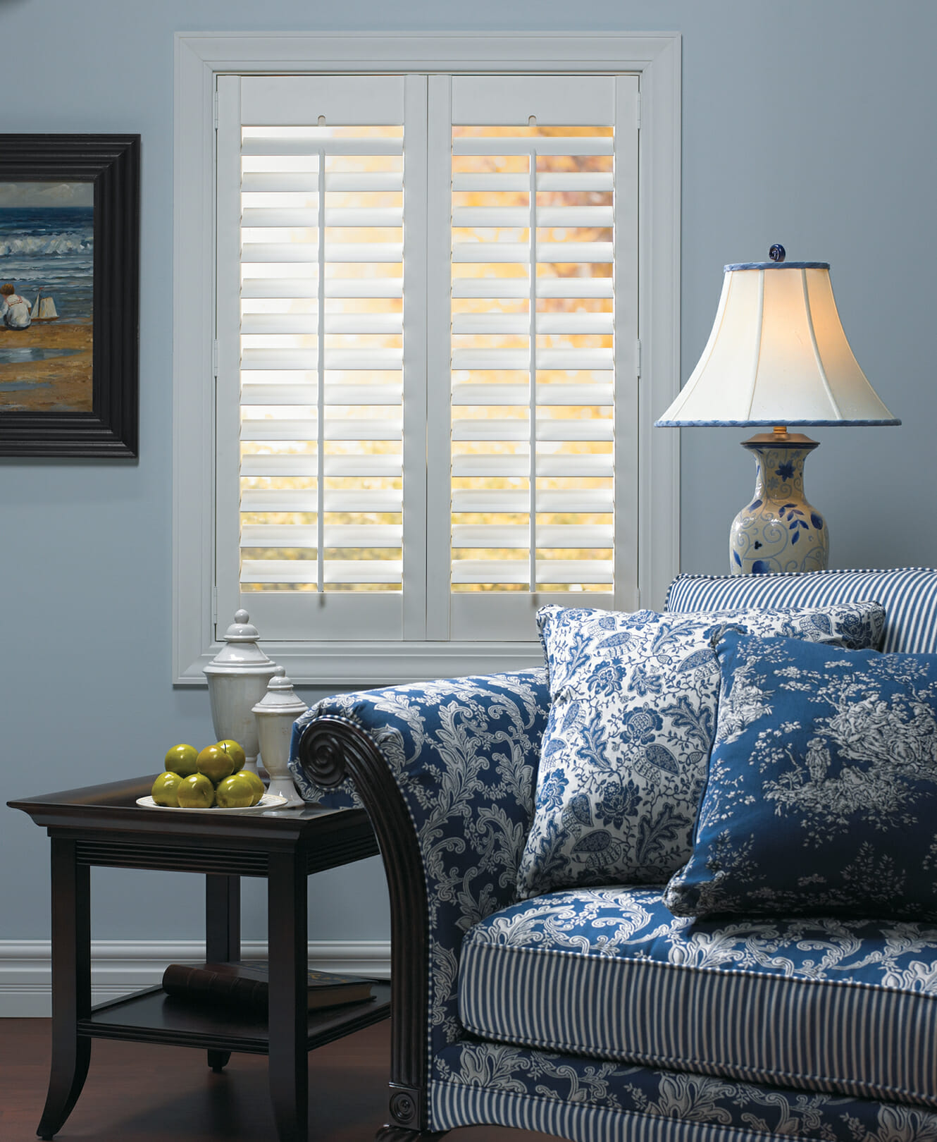 Faux wood shutters san diego ca for Timber shutters
