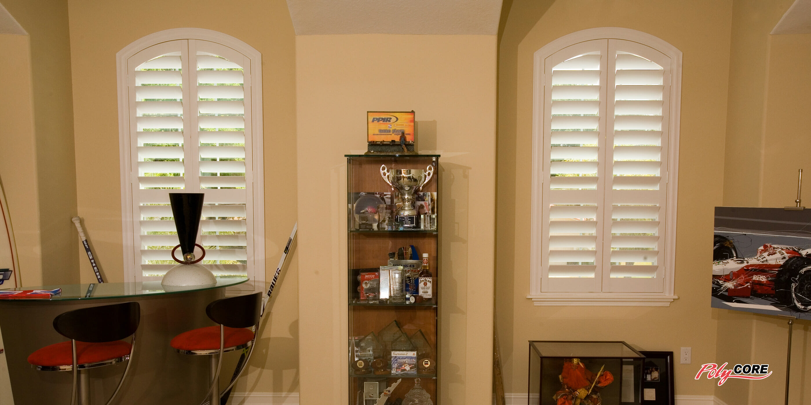 Faux Wood Plantation Shutters For Interior Windows