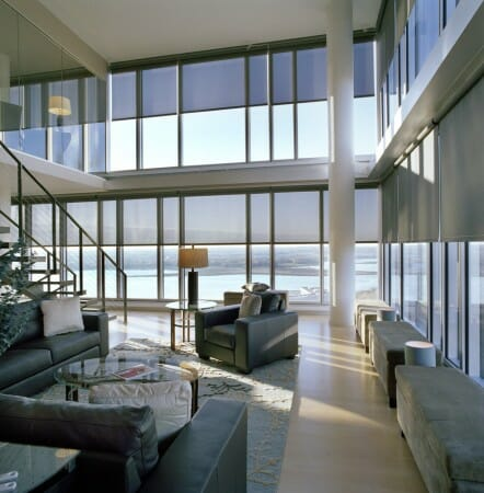 Mecho shades for your san diego home for Motorized blackout roller shades