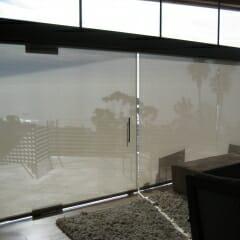Skyco Roller Shades in Residence Laguna Beach