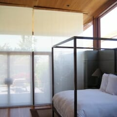 Skyco Roller Shades in Residence San Diego