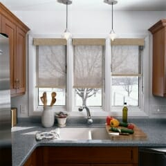 Solar Shades In The Kitchen