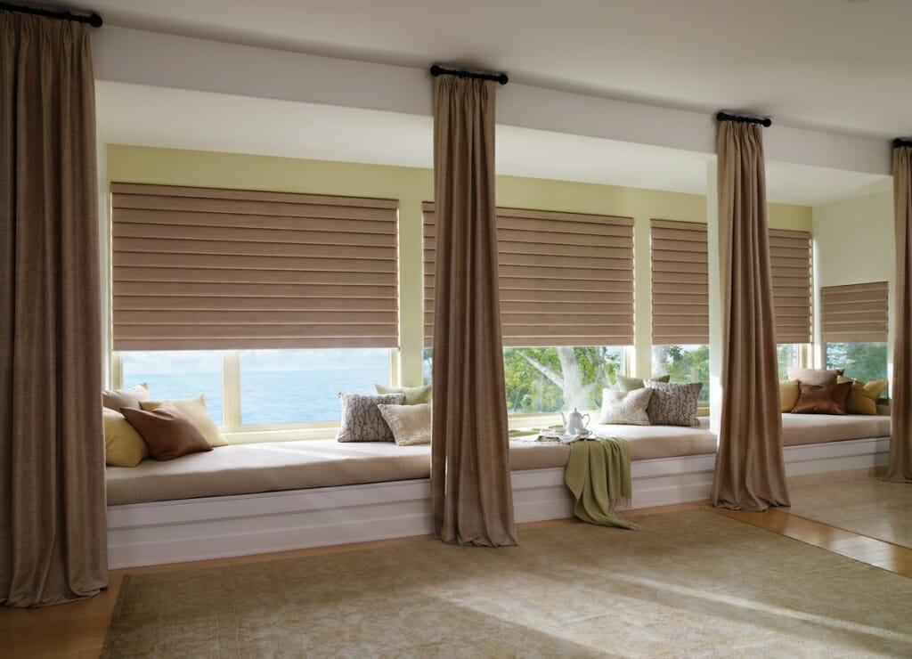 Roman Shades 3 Blind Mice Window Coverings