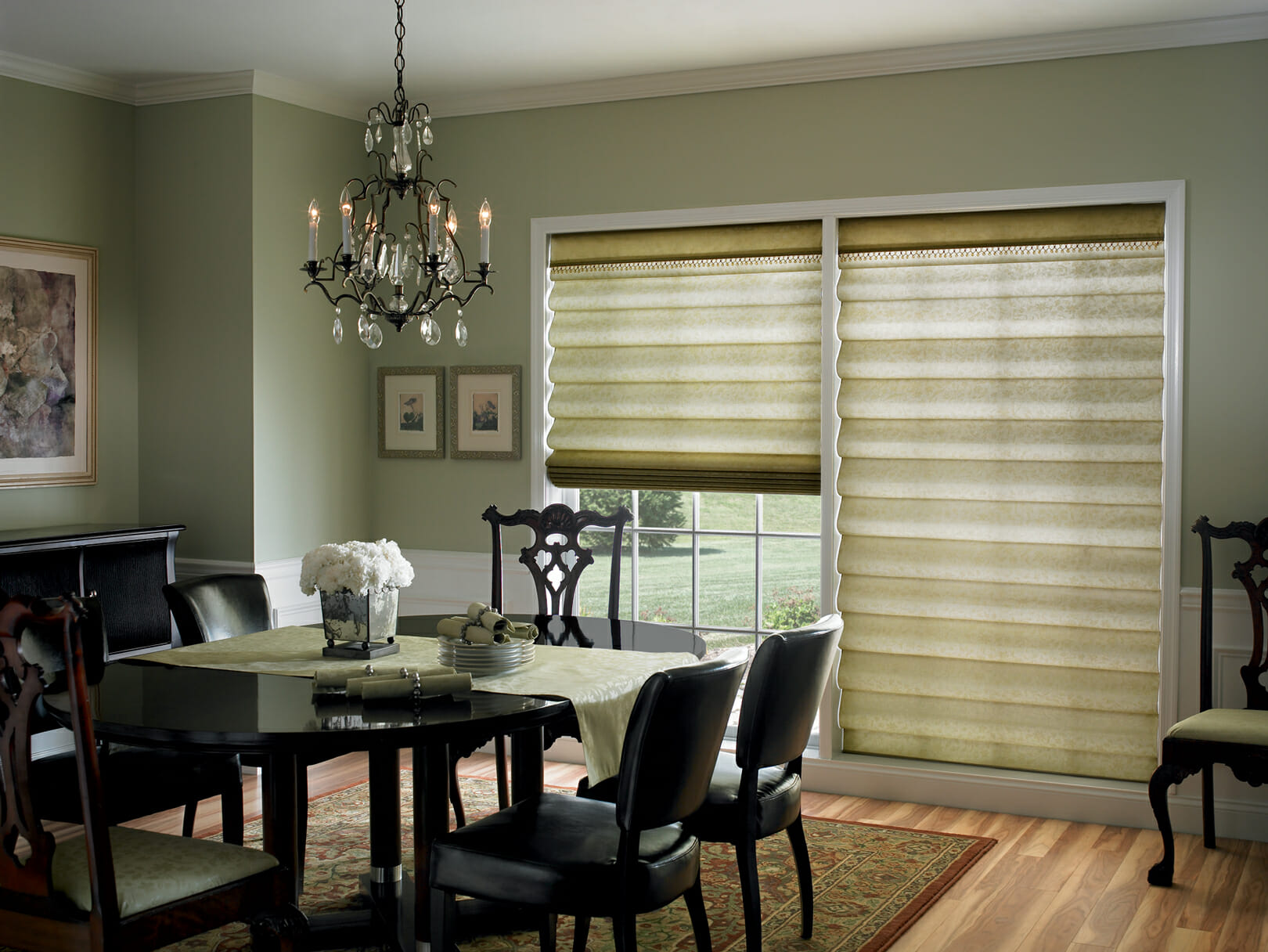 Roman Shades 3 Blind Mice Window Coverings
