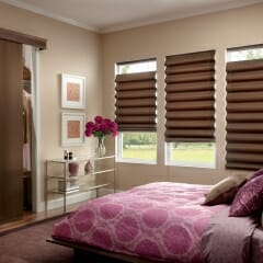 Roman Shades Bottom To Top and Top To Bottom