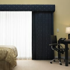Kirbe Sheer Curtains & Blackout Draperies with Motorization from Lutron