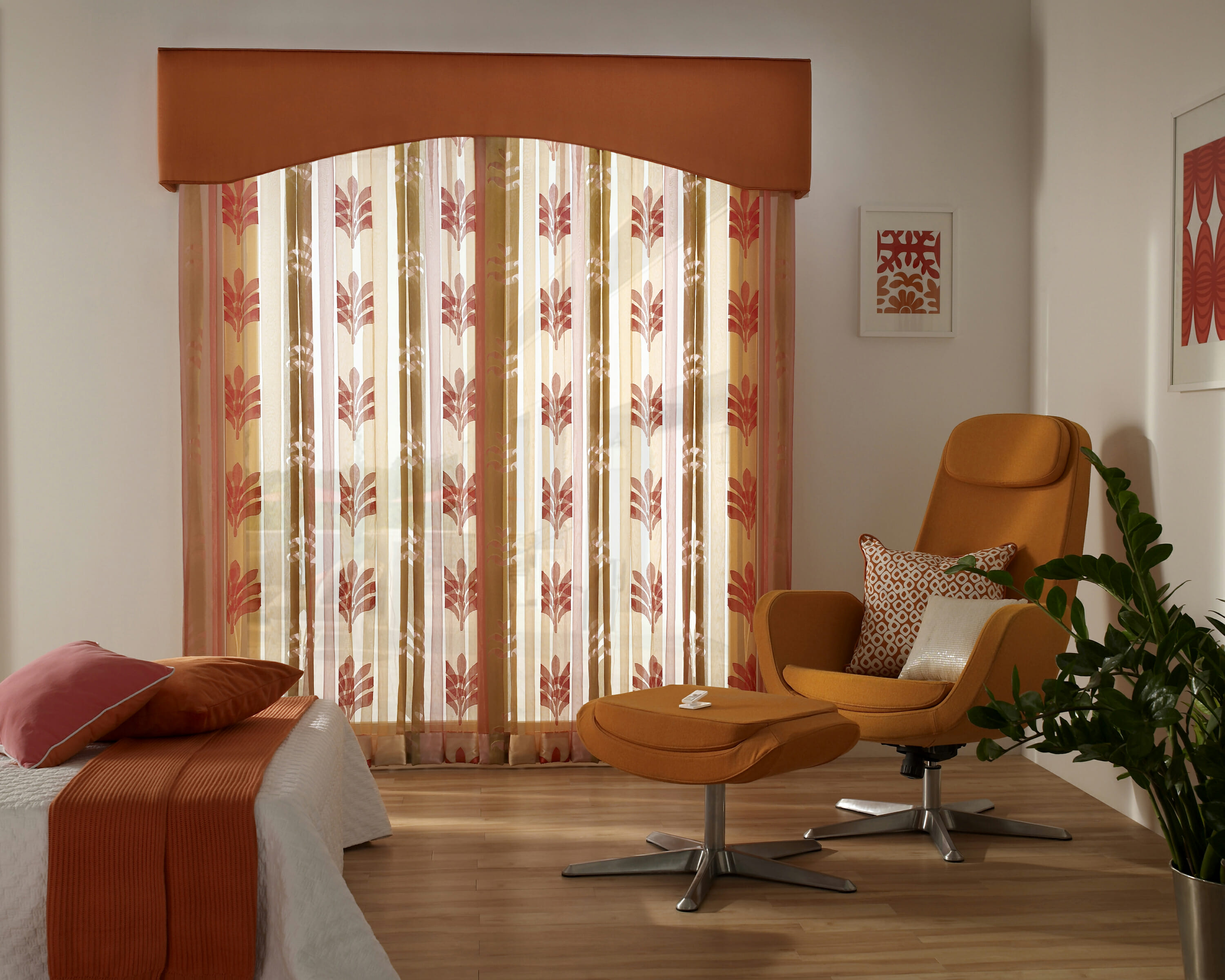 Window treatment ideas for doors 3 blind mice for Window treatment ideas