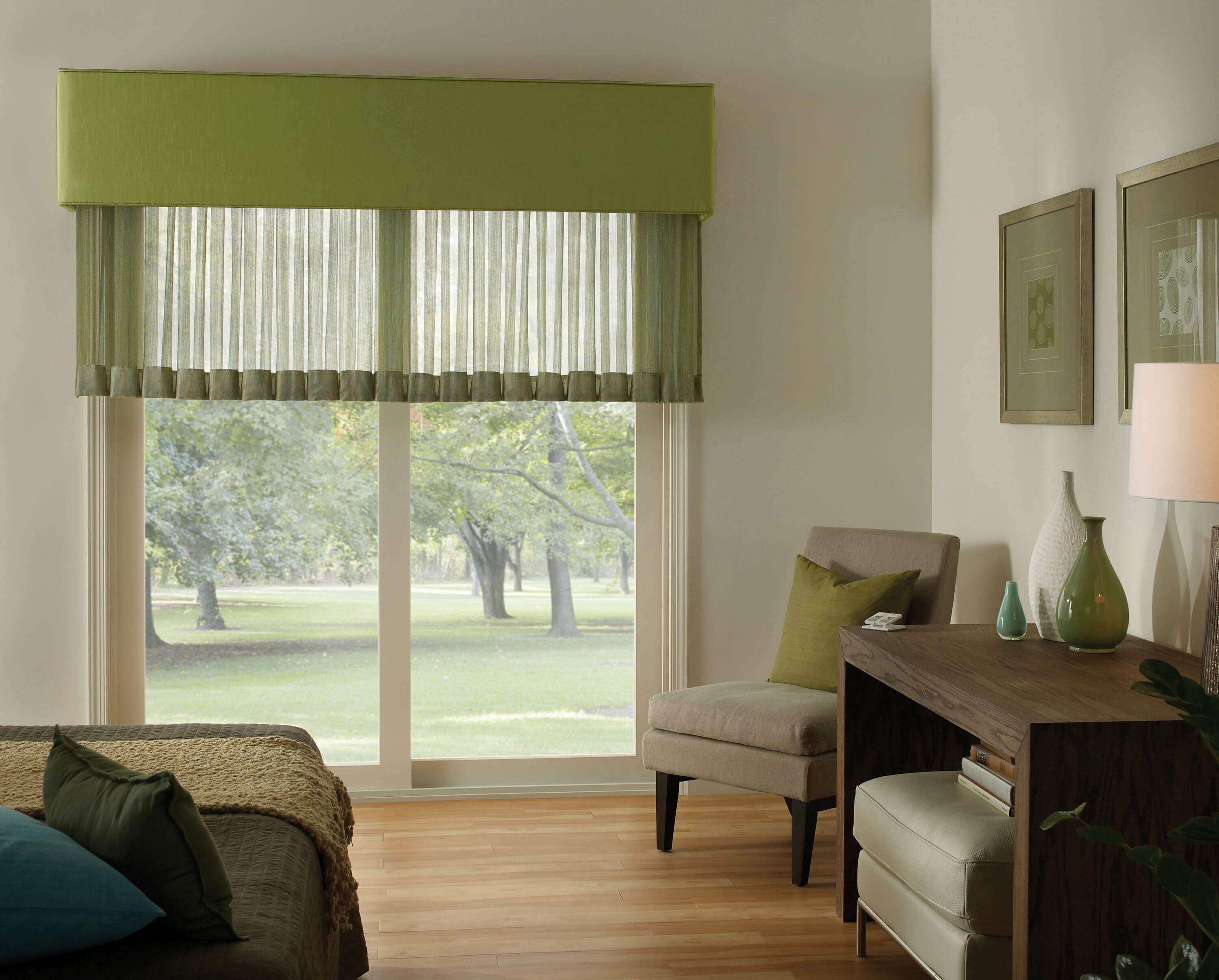 Kirbe Sheer Curtains Dries With Motorization From Lutron