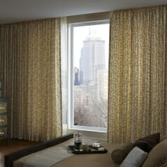 Kirbe Sheer Curtains & Draperies with Motorization from Lutron
