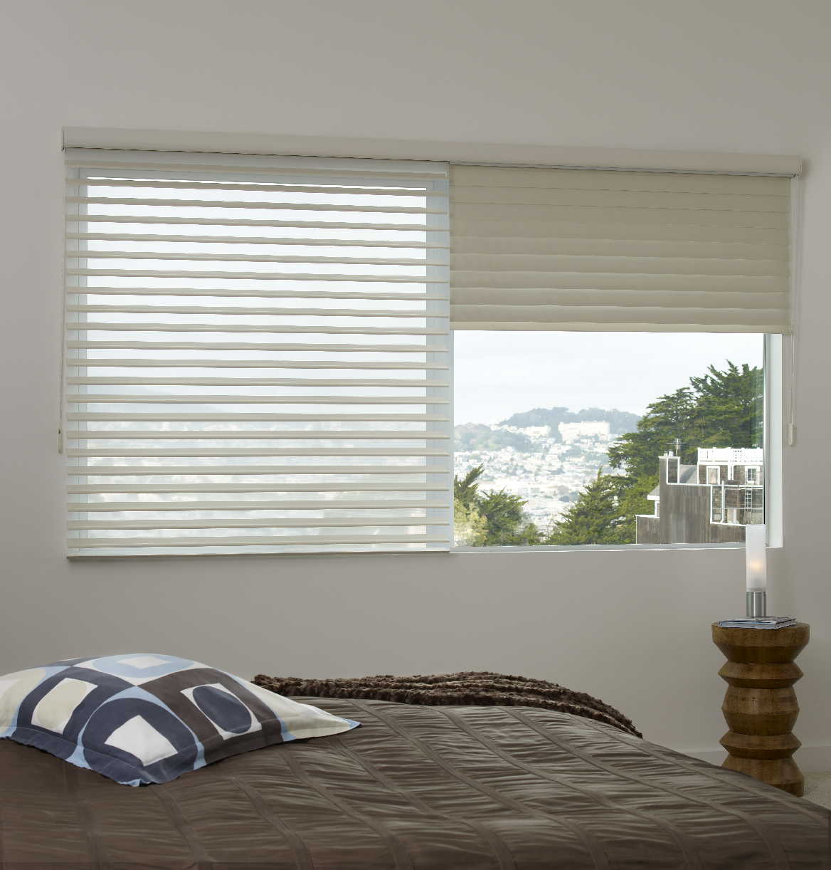 Qmotion Blinds Motorised Roller Decorating Decor