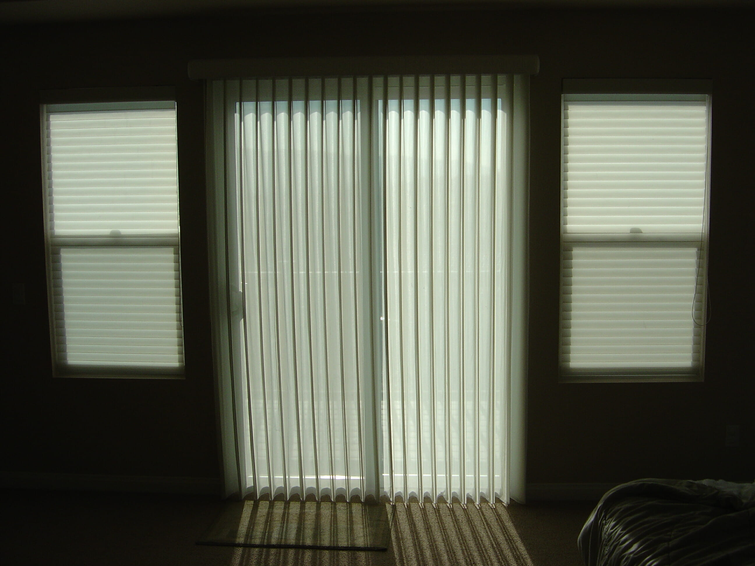 Sheer Shades 3 Blind Mice Window Coverings