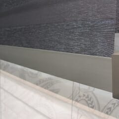 Coulisse Transitions Motorized Sheer Shade Bottom Bar