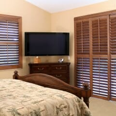 Lexwood Real Wood Plantation Shutters from Sunland Shutters 7