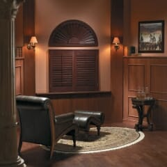 Plantation Shutters Offer A Clean Look