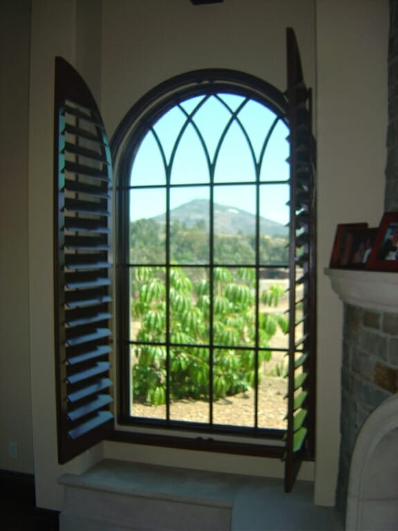 Arched Shutters - 3 Blind Mice Window Coverings San Diego, CA