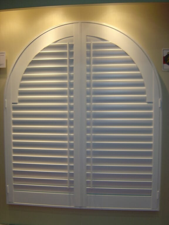 Arched Shutters 3 Blind Mice Window Coverings