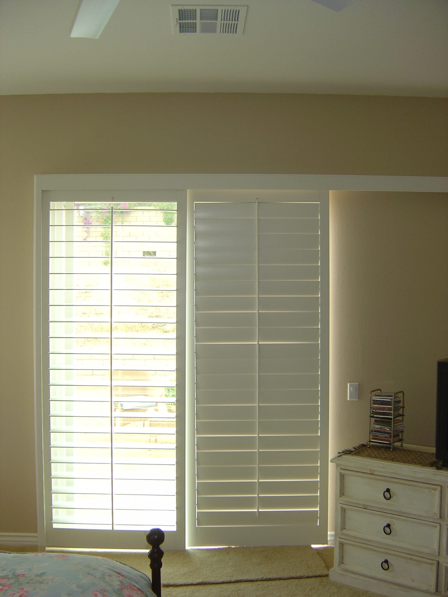 Shutters On Sliding Gl Door