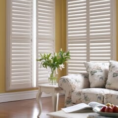 Shutters Offer Sleek, Clean Lines