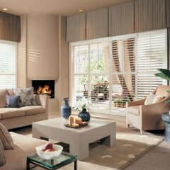 Draperies And Valances Over Shutters