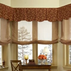 Scalloped Box Pleated Valance