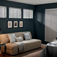Vertical Blinds Are Available In Many Textures