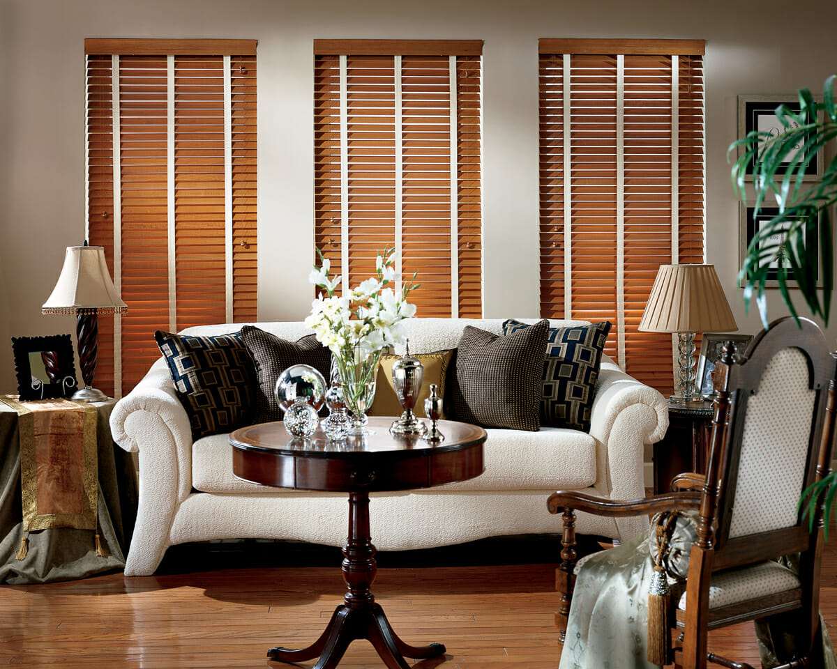 Decorative Tapes Can Add A Splash Of Color To Your Wood Blinds