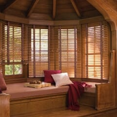 Our Wood Blinds Offer Furniture Quality Finishes