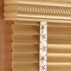 Decorative Boxed Wood Valance