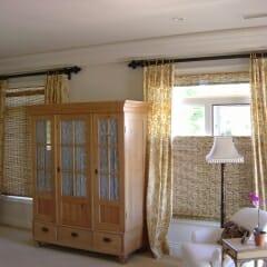 Tdbu Bamboo Shade In Bedroom