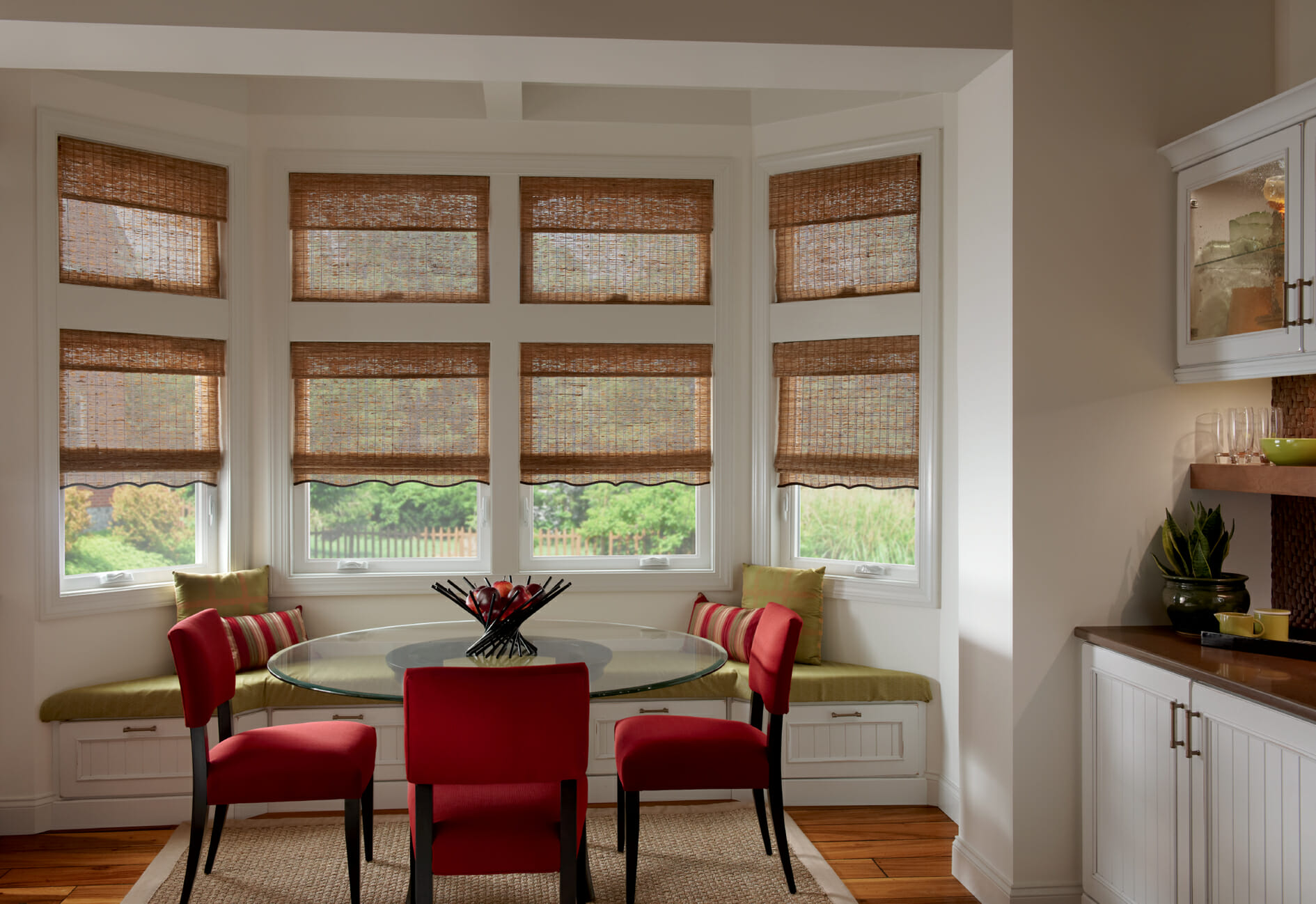 Woven Woods Window Treatments By Graber Bring Fashion To Any Room