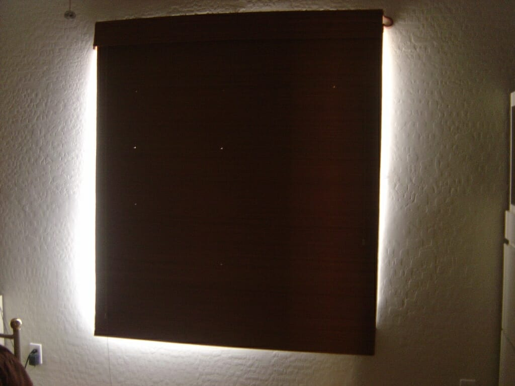 Halo Effect on Room Darkening Shades in Bedroom. Room Darkening Shades Explained   3 Blind Mice Window Coverings