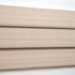 Triple Hobbled Woven Wood Valance
