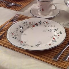 Woven Wood Fabric For Placemats